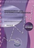 Sylvie Gerbaix et Marc Pasquet - Management des systèmes d'information DSCG 5 - Enoncé.