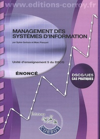 Management des systèmes d'information DSCG 5- Enoncé - Sylvie Gerbaix |