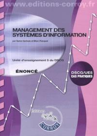 Management des systèmes d'information UE 5 du DSCG- Enoncé - Sylvie Gerbaix | Showmesound.org