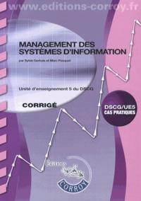 Galabria.be Management des systèmes d'information UE 5 du DSCG - Corrigé Image