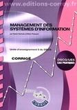 Sylvie Gerbaix et Marc Pasquet - Management des systèmes d'information UE 5 du DSCG - Corrigé.