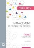 Sylvie Gerbaix - Management et contrôle de gestion DSGC 3 - Enoncé, cas pratiques.
