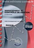 Sylvie Gerbaix - Management et contrôle de gestion UE 3 du DSCG - Enoncé.