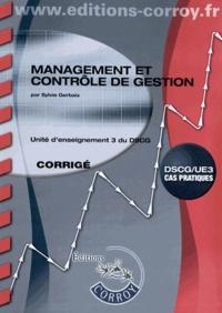 Management et contrôle de gestion UE 3 du DSCG - Corrigé.pdf