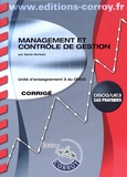 Sylvie Gerbaix - Management et contrôle de gestion UE 3 du DSCG - Corrigé.