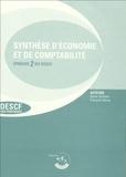 Sylvie Gerbaix et François Marty - Synthèse d'économie et de comptabilité - Epreuve 2 du DESCF.