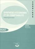 Sylvie Gerbaix et François Marty - Synthèse d'économie et de comptabilité - Epreuve 2 du DESCF, corrigés.