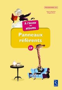 Sylvie Girard et Karine Gros - Panneaux référents à l'école des albums CP.