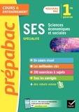 Sylvie Godineau et Céline Le Feuvre - SES 1re (spécialité) - Prépabac Cours & entraînement - nouveau programme de Première.