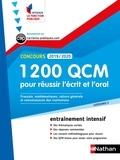 Sylvie Grasser - 1 200 QCM pour réussir l'écrit et l'oral - Catégorie C, Français, Mathématiques, Culture générale, Connaissances des institutions.