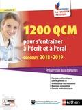 Sylvie Grasser - 1 200 QCM pour s'entraîner à l'écrit et à l'oral - Préparation aux épreuves, Catégorie C.