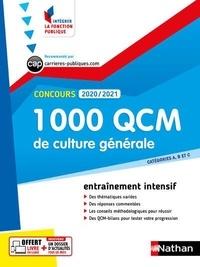 Sylvie Grasser et Pascal Joly - 1000 QCM culture générale concours catégories A, B et C - Histoire, géographie, économie et société, institutions, arts, sciences et techniques.