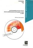 Sylvie Grcic et Franck Hovaguimian - Les mouvements de main-d'oeuvre dans les établissements de 50 salariés ou plus en 2004. 1 Cédérom