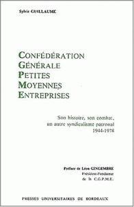 Histoiresdenlire.be Confédération Générale des Petites et Moyennes entreprises. Son histoire, son combat : un autre syndicalisme patronal 1944-1978 Image