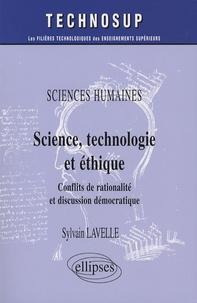 Galabria.be Sciences, technologie et éthique - Sciences humaines, Conflits de rationalité et discussion démocratiques Image