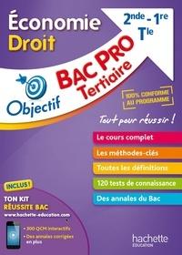 Sylvie Lefebvre - Economie-Droit 2nde-1re-Tle Bac pro Tertiaire.
