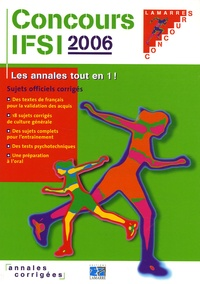 Accentsonline.fr Concours IFSI 2005/2006 - Sujets officiels corrigés Image