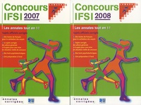 Deedr.fr Concours IFSI 2007-2008 - Sujets officiels et corrigés Pack 2 volumes Image