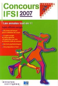 Rhonealpesinfo.fr Concours IFSI 2007 - Sujets officiels et corrigés Image