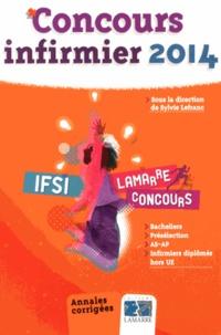 Sylvie Lefranc - Concours infirmier 2014 - Annales corrigées.