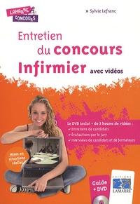 Sylvie Lefranc - Entretien du concours infirmier avec vidéos. 1 DVD