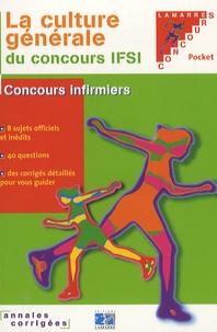 Sylvie Lefranc - La culture générale du concours IFSI.
