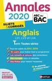 Sylvie Léger et Virginie Plessis - Anglais LV1, LV2 et LVA Tle toutes séries.