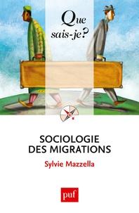 Sylvie Mazzella - Sociologie des migrations.