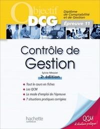 Sylvie Messier - Objectif DCG Contrôle de gestion.