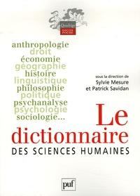 Dictionnaire des sciences humaines - Sylvie Mesure pdf epub