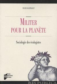 Deedr.fr Militer pour la planète - Sociologie des écologistes Image