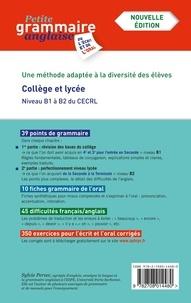 Sylvie Persec - Petite grammaire anglaise de l'écrit et de l'oral - La méthode progressive.
