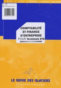 Sylvie Philibert et Eric Lecroisey - Comptabilité et finance d'entreprise pour Tle STG.