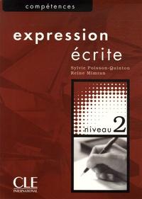 Expression écrite niveau 2 - Sylvie Poisson-Quinton |