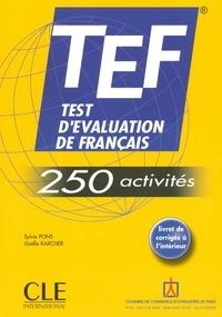 Sylvie Pons - TEF - 250 activités.