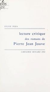 Sylvie Poza - Lecture critique des romans de Pierre Jean Jouve - Narcisse à la recherche de lui-même.