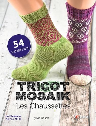 Sylvie Rasch - Tricot Mosaik - Les Chausettes.