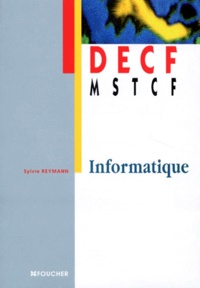 Sylvie Reymann - Informatique - DECF, MSTCF.