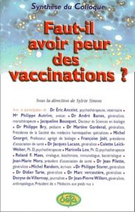 Rhonealpesinfo.fr Faut-il avoir peur des vaccinations ? Synthèse du colloque Image