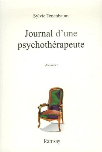 Sylvie Tenenbaum - Journal d'une psychothérapeute.