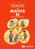 Sylvie Van Lint - Cracks en maths 3 - Manuel d'apprentissages.