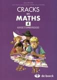 Sylvie Van Lint - Cracks en maths 4 - Manuel d'apprentissages.