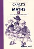 Sylvie Van Lint - Cracks en maths 4 - Guide méthodologique et corrigé.