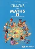 Sylvie Van Lint - Cracks en maths 5 - Manuel d'apprentissages.