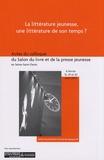 Sylvie Vassallo - La littérature jeunesse, une littérature de son temps ? - Actes du colloque du Salon du livre et de la presse jeunesse en Seine-Saint-Denis, février-mars 2007.