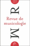 Société Française Musicologie - Revue de musicologie Tome 101, N°1 (2015) : .