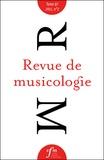 Société Française Musicologie - Revue de musicologie Tome 97, n° 2 (2011) : .