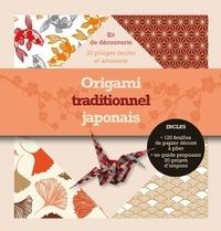 Synchronique - Origami traditionnel japonais - Kit de découverte. 30 pliages faciles et amusants.