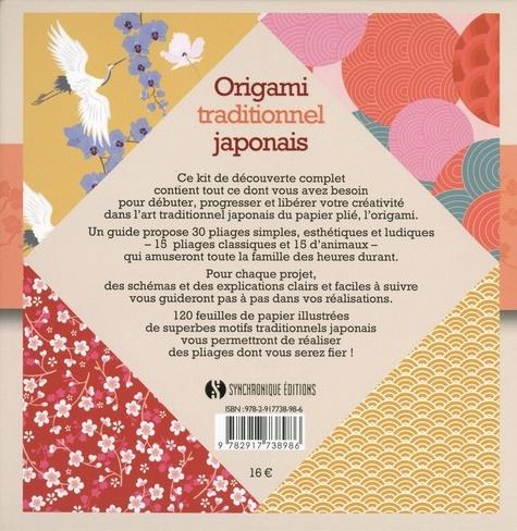 Origami traditionnel japonais. Kit de découverte. 30 pliages faciles et amusants