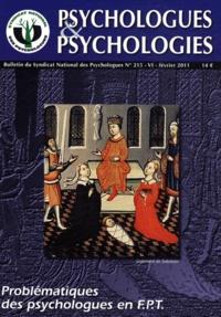 Marie-France Jaqmin et Jacques Borgy - Psychologues et psychologies N° 215-4, février 20 : Problématiques des psychologues en FPT.